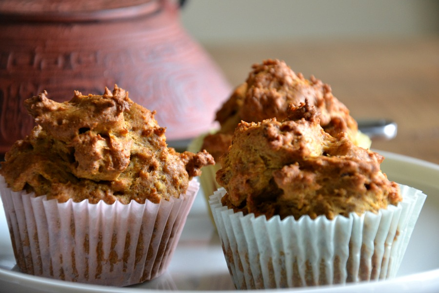 sweet potato and five spice muffins