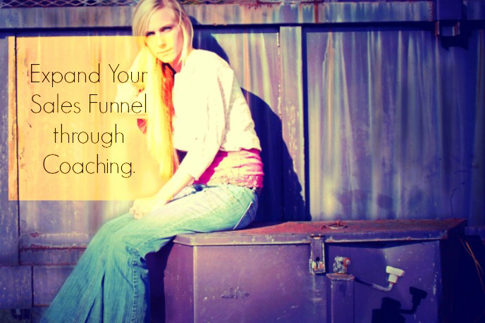 expand your sales funnel through coaching
