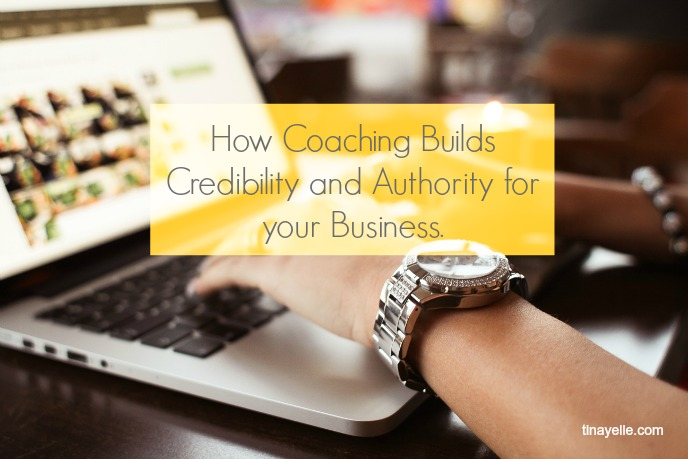 how coaching builds credibility and authority for your business