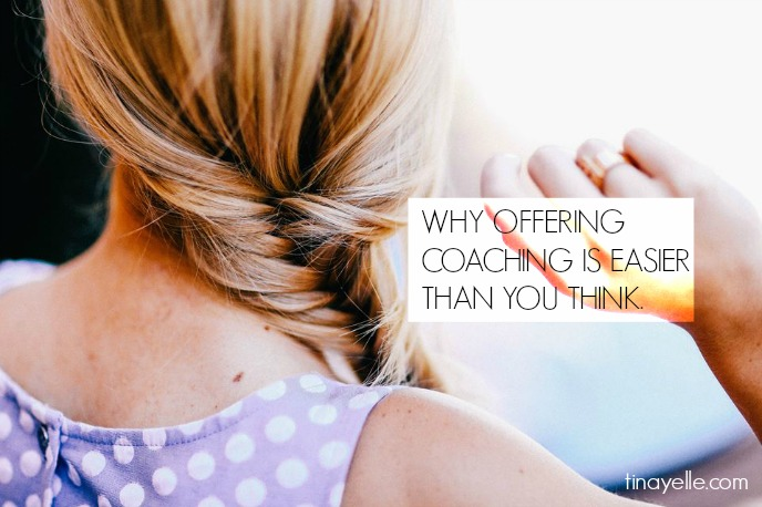 Why Offering Coaching is Easier Than You Think